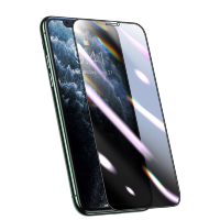 Плёнка Baseus 0.25mm Curved Privacy Антивор для iPhone X/XS/11 Pro Чёрная
